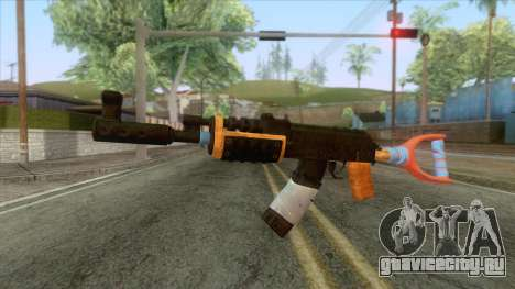 Improvised AK-47 Rifle для GTA San Andreas