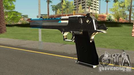 Chrome Eagle Blue для GTA San Andreas
