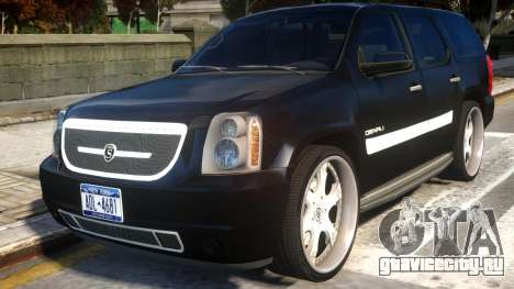 GMC Yukon Denali 2008 v1.0 для GTA 4