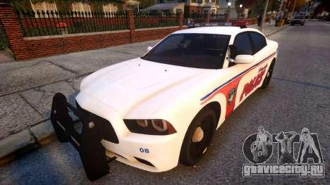 Dodge Charger police для GTA 4