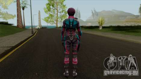 Maven Valentine from Ghost in Shell First для GTA San Andreas