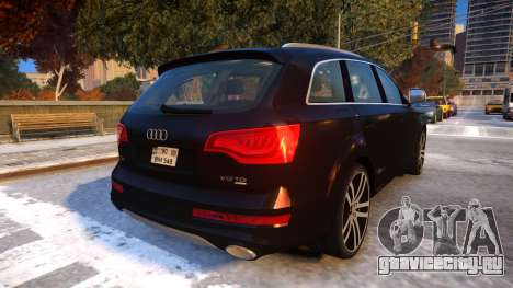 Audi Q7 V12 TDI 2009 Baku Style (fix parameters) для GTA 4 вид справа