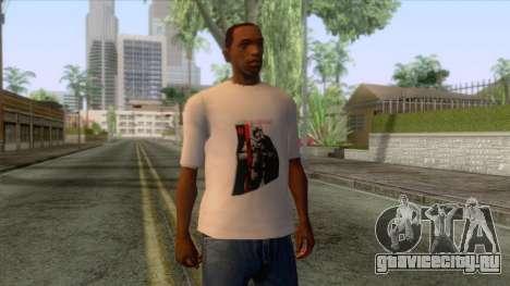 Star Wars - Captain Phasma T-Shirt для GTA San Andreas