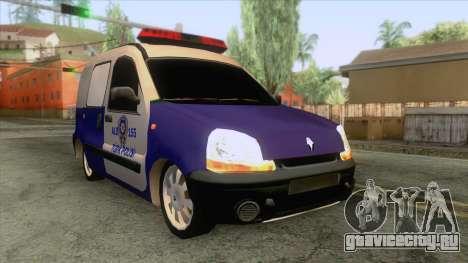 Renault Clio Polis Arabası для GTA San Andreas
