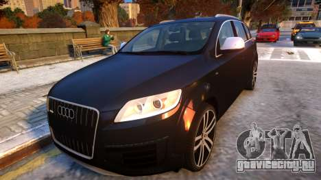 Audi Q7 V12 TDI 2009 Baku Style (fix parameters) для GTA 4