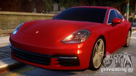 Porsche Panamera 2017 для GTA 4