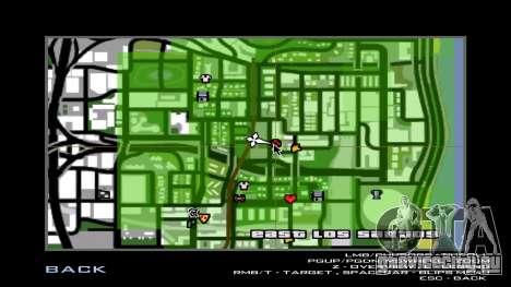 Misaka and Touma Wall для GTA San Andreas