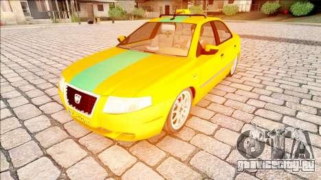 IKCO Samand Taxi для GTA San Andreas
