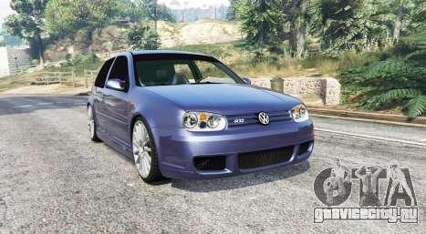 Volkswagen Golf R32 (Typ 1J) v1.1 [replace] для GTA 5