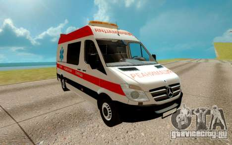 Mercedes-Benz Sprinter 311 CDI L1H2 для GTA San Andreas