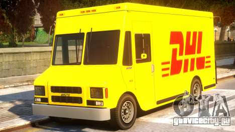 DHL TNT Skins for Boxville для GTA 4