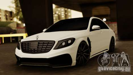Mercedes-Benz S63 WALD Black Bison для GTA San Andreas