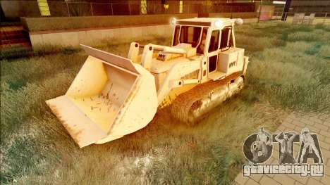 HVY Bulldozer GTA V Next Gen SA Lights для GTA San Andreas