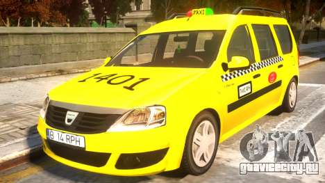 Dacia Logan MCV Taxi для GTA 4
