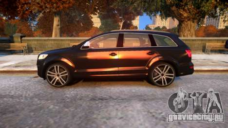 Audi Q7 V12 TDI 2009 Baku Style (fix parameters) для GTA 4 вид слева