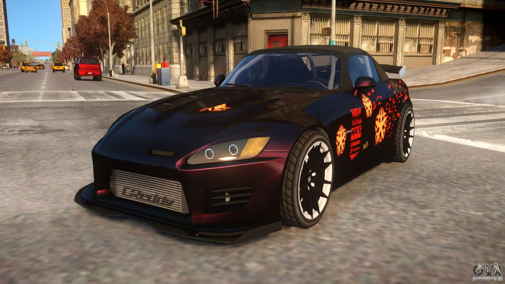 Fast And Furious 1 Honda S2000 Movie Car для GTA 4