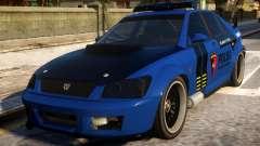 All New Karin Sultan Indonesia Police для GTA 4