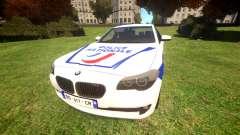 BMW Police Nationale для GTA 4