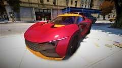 2018 Tamo Racemo 001 для GTA 4