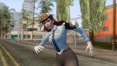 Overwatch - Officer D.va Skin для GTA San Andreas