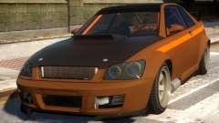 Sultan RS Lexus IS300 для GTA 4