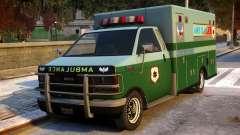 Ambulance Modification для GTA 4