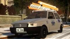 Fiat Uno com Escada для GTA 4
