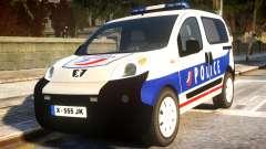 Peugeot Bipper Police для GTA 4