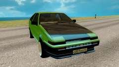 Toyota Sprinter Trueno АЕ85 для GTA San Andreas