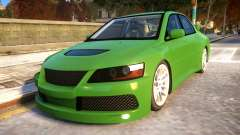 Mitsubishi Lancer Evolution VIII MR NFS Edition для GTA 4