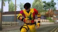 Masked Leon Skin v2 для GTA San Andreas