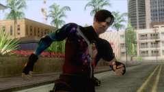 Masked Leon Skin v3 для GTA San Andreas