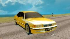 BMW E38 750iL 7 Series для GTA San Andreas