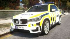 BMW X5 Norwegian Police для GTA 4