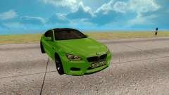 BMW M6 зелёный для GTA San Andreas
