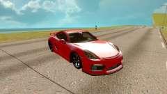 Porsche Cayman 2017 для GTA San Andreas