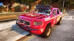 Baja 1000 Honda Ridgeline для GTA 4