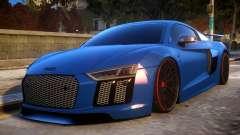 Audi R8 2017 для GTA 4