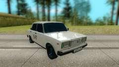 ВАЗ 2107 белый для GTA San Andreas