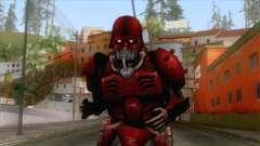 Kerberos Panzer Cop Red Skin для GTA San Andreas