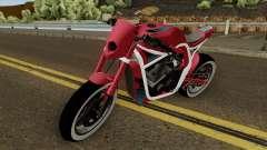 Kawasaki Z800 Street Fighter для GTA San Andreas