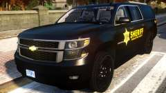 2015 Suburban Target Zero Units Police для GTA 4
