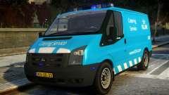 Ford Transit Catering Service KLM для GTA 4