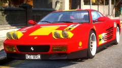Ferrari 512 TR Evo Testarossa Rel для GTA 4