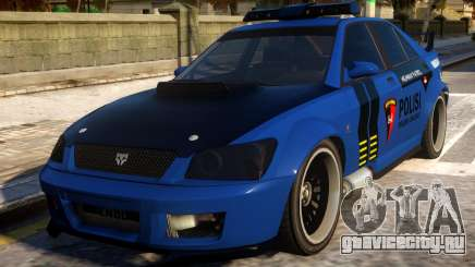 All New Karin Sultan Indonesia Police для GTA 4