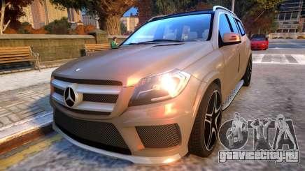 Mercedes Benz GL63 AMG Baku Style для GTA 4