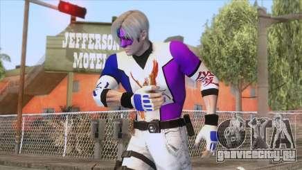 Masked Leon Skin v1 для GTA San Andreas