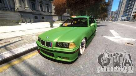 BMW E36 Street Tuning для GTA 4