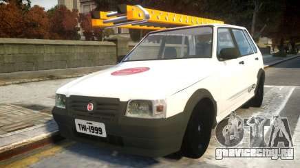 Fiat Uno Mille De Firma для GTA 4