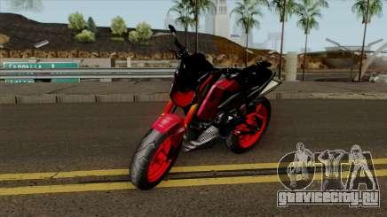 Honda MSX Modified red для GTA San Andreas